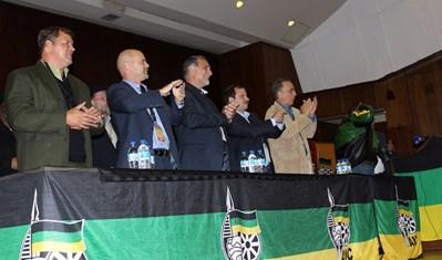 Los CINCO en Sudáfrica