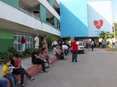 Hospital Cardiocentro Pediátrico William Soler. Foto: Ismael Francisco/Cubadebate.